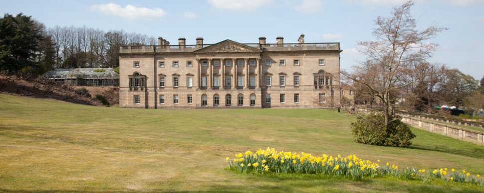 wentworth castle in south Yorkshire - a stately home