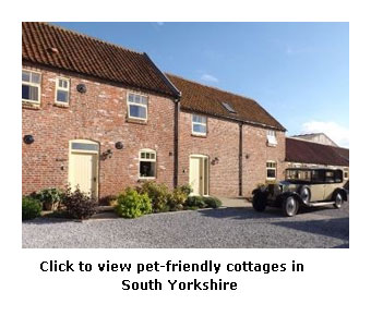 see some pet friendly cottages south yorkshire