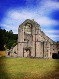 Places to visit in Yorkshire: Fountains Abbey Ripon